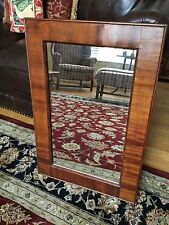 Antique Mission Style Walnut Mirror
