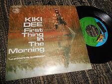 """KIKI DEE Lo primero de la mañana/El hombre que amaba bailar 7"""" 1977 SPAIN PROMO"""