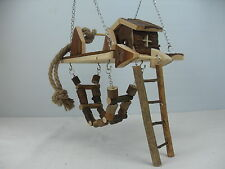 Hanging Activity Centre for Hamsters, Gerbils, Chipmunks, Chinchillas small pets