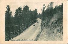 Postcard Mexico Camino de Mexico a Puebla Los Molinillos Unused c1930s