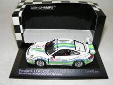 1/43 minichamps Porsche 911 GT3 Cup Matin Snow IMSA GT3 Challenge 2008