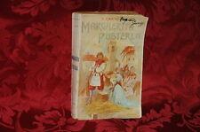Libro Antico 1911 Margherita Pusterla Romanzo Storico di Cesare Cantù
