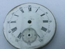 ANTIQUE  POCKET WATCH MOVEMENT ONLY  FOR PARTS SOLD AS IS #35