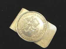 Sterling Silver Mexico 1968 Olympics Stardust C.C. Member 1970 Money clip