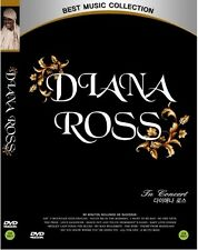Diana Ross - Live In Concert Las Vegas DVD (Sealed)