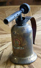 Vintage Lenk Brass Gasoline Blow Torch Blowtorch