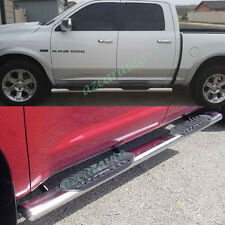 "5"" S/S Side Step Nerf Bar Running Board 09-14 Ram 1500 10-14 2500/3500 Crew Cab"