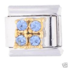 DECEMBER 4 GEM SQUARE - Daisy Charms Fits Classic Size Italian Charm Bracelet