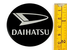 "DAIHATSU *4 x NEW*  Emblems 55mm (2 3/16"") WHEEL CENTER CAP STICKERS 3D DECALS"
