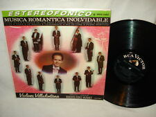 Musica Romantica Inolvidable - LP Record Album - Excellent Vinyl