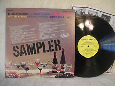 Charlie Parker Records Sampler, PLP-823, Davis, Lateef, Young, Green, Cole