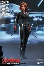 "HOT TOYS Avengers 2 Age of Ultron Black Widow 4.0 Scarlett Johansson 11"" Figure"
