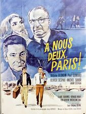 """""""A NOUS DEUX PARIS"""" Affiche originale (Olivier DESPAX, Michel SUBOR)"""