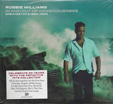 2 CD ♫ Compact disc ROBBIE WILLIAMS ♦ IN AND OUT OF CONSCIOUSNESS Digipack nuovo