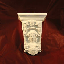 Corbels in fine plaster 19th Century Design. Handmade in Kent.