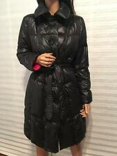 ESCADA Sport Black Quilted Goose Down Filled Coat sz 40