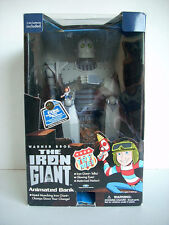 The Iron Giant Animated Coin Bank action figure  Trend Masters 1999