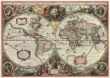 ANTIQUE WORLD MAP 16th CENTURY VINTAGE Photo Wallpaper Wall Mural  335x236cm