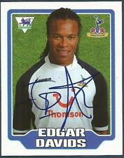 MERLIN F.A. PREMIER LEAGUE 06- #434-TOTTENHAM HOTSPUR & HOLLAND-EDGAR DAVIDS