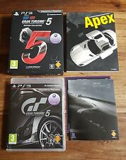 GRAN TURISMO 5 Édition Collector Jeu Sur Sony Playstation 3 PS3 VF