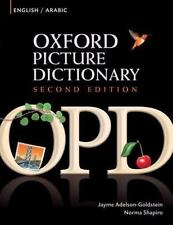 Oxford Picture Dictionary: English/Arabic (Oxford Picture Dictionary)-ExLibrary
