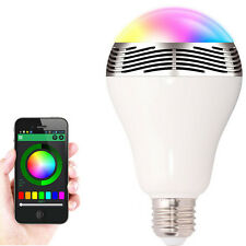 Magic Light 5W Bluetooth LED Light Bulb E27 LED Music Bluetooth Bulb speaker