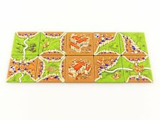 Carcassonne Inns & Cathedrals Replacement Cathedral Land Tile Set 10pc