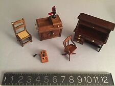 doll house vintage Victorian style furniture: Schackman's.
