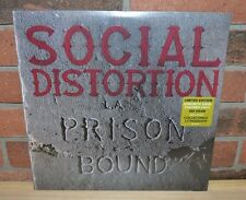 SOCIAL DISTORTION - Prison Bound, Limited 180 Gr CONCRETE COLORED VINYL + Litho