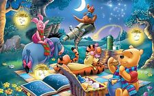 WINNIE THE POOH POSTER  (A3 - 420X297MM) + A FREE SURPRISE A3 POSTER (2)