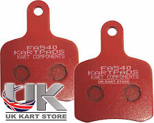 EBC Tony Kart / OTK Pattern Brake Pads Red Hard FA540 Top Quality Rapid Post