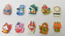 Yo-Kai Watch Ghost Friends Set of 10 Finger Puppet Figures Bandai Japan Jibanyan