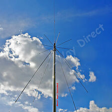 SUPER DISCONE SCANNER UHF VHF HAM AMATEUR BAND BASE STATION ANTENNA