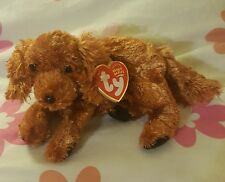 TY FITZ the IRISH SETTER DOG  BEANIE BUDDY - MINT with MINT TAG