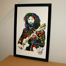 Jerry Garcia, Grateful Dead, Lead Guitar, Guitarist, Vocals, 11x17 PRINT w/COA Y