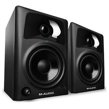 "M-Audio AV42 Professional 20W Home Recording Studio Monitor 4"" Speakers Pair"