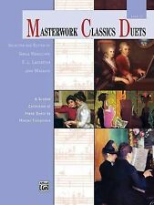 Masterwork Classics Duets, Level 3: A Graded Collection of Teacher-Student Piano