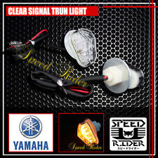 CLEAR YAMAHA R1 R6 2002 2003 2004 2005 2006 2007 2008 YZF LED TURN SIGNAL LIGHTS