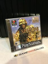 SPEC OPS AIRBORNE COMMANDO PAL PS1 NUOVO SIGILLATO SEALED PLAYSTATION 1 RARO