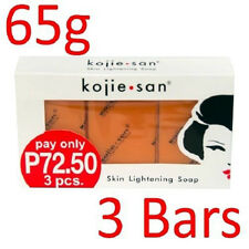 Kojie San 3-Pack Skin Whitening Lightening Bleaching Kojic Acid Soap 65gramsx3