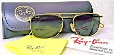 RAY-BAN *NEW VINTAGE B&L Mod-AVIATOR W1698 Pinpoint Etched 24kGP *NOS SUNGLASSES