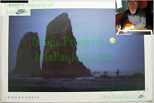 NITF Vintage NIKE Running Poster ¤ Moonrunner ¤ Cannon Beach ¤ Full Moon SIGNED
