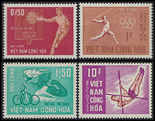 VIETNAM du SUD N°275/278** Sport basket javelot.. 1965 South VietNam 272-275 MNH