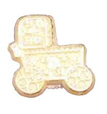 24 Capias Mini Charms For Babies Showers Birthdays Favors - Gold Buggy