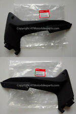 Honda CBR125R  Left and Right BLACK Middle Fairing Side Panel Cover 2011-2016