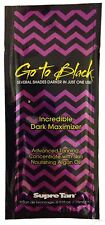 Supre Tan Go To Black Incredibly Dark Tanning Maximizer Tanning Lotion - 15ml