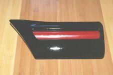 ROVER 200 216 GTI 400 barra di protezione parafango anteriore Sinistro Nero Rosso dgb10159pmw