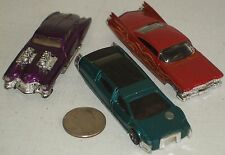 "Hot Wheels Evil Twin, Custom '59 Cadillac & Sentinel 400 Limo Cars 3"" USED"