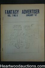 Fantasy Advertiser Vol. 1 #6 January 1947