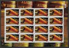 Canada Stamps -Full Pane of 16 -Law Society of Alberta #2228 -MNH
